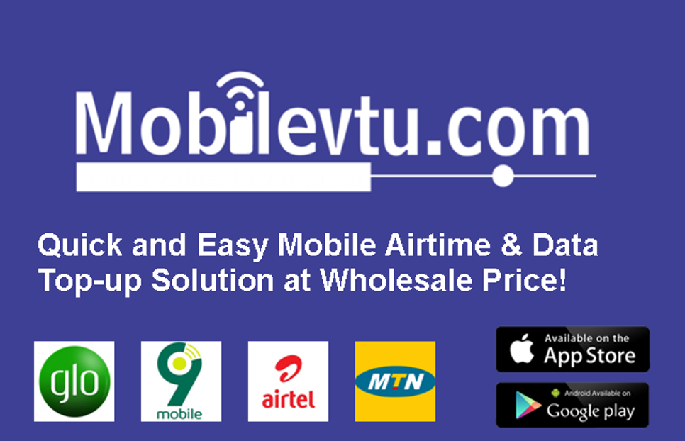 Mobile VTU - Mobilevtu com - Mobile Airtime & Data Top-up at